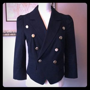 Guess blazer with gold buttons